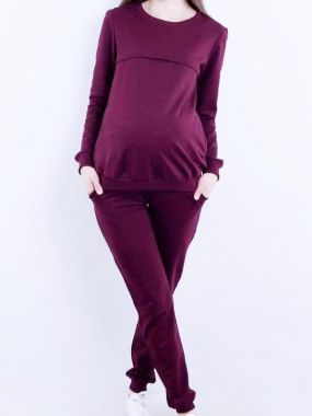 Спорт.костюм. для беременных и кормящих марсала 006 VILENA